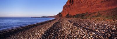 Pebbles on the Beach, Budleigh Salterton, Devon, England--Photographic Print