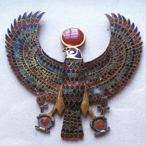 Pectoral Jewel from the Treasure of Tutankhamun, Ancient Egyptian, C1325 Bc