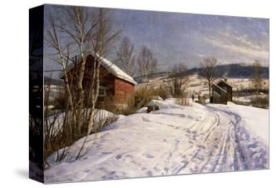 A Winter Landscape, Lillehammer