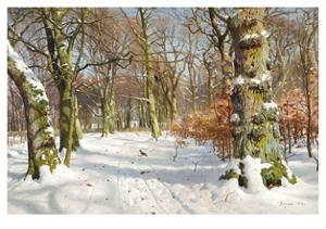 In Charlottenlund Forest by Peder Mork Monsted