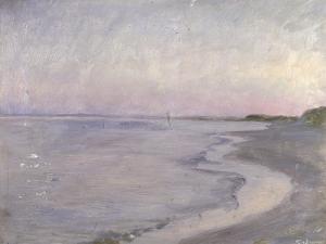 A Coastal Scene by Peder Severin Kröyer