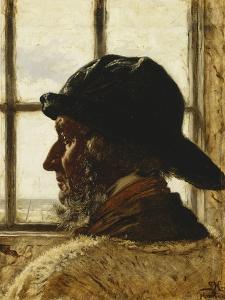 The Old Fisherman by Peder Severin Kryer