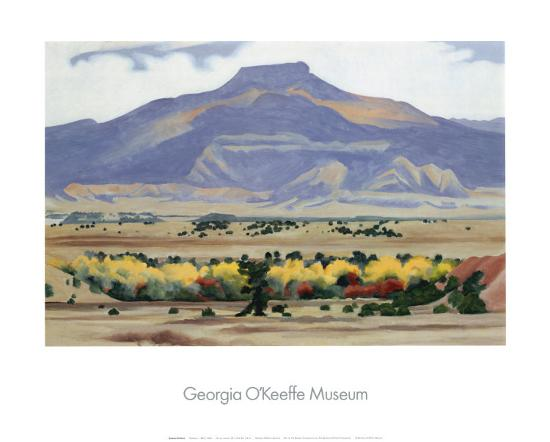 Pedernal, 1942-Georgia O'Keeffe-Art Print