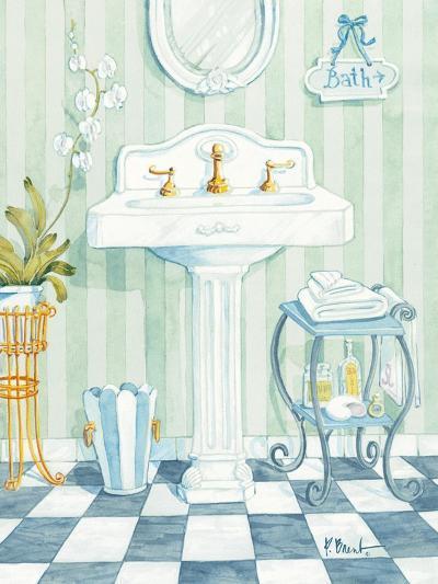 Pedestal Sink-Paul Brent-Art Print