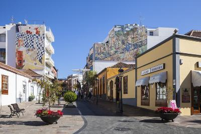 Pedestrian Area in the Old Town of Los Llanos, La Palma, Canary Islands, Spain, Europe-Gerhard Wild-Photographic Print