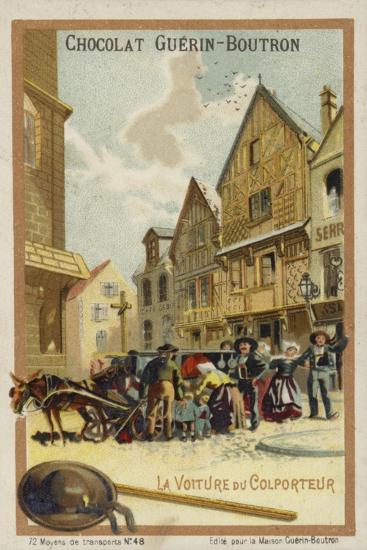 Pedlar's Wagon--Giclee Print
