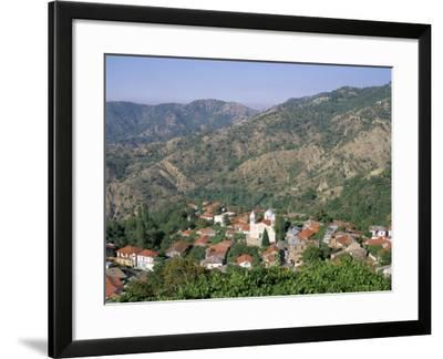 Pedoulas, Troodos Mountains, Cyprus, Mediterranean-John Miller-Framed Photographic Print