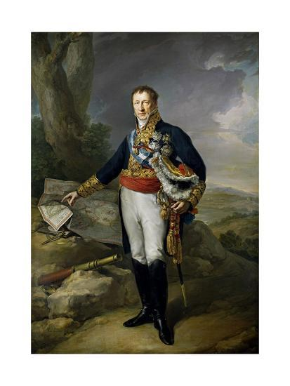Pedro Alcantara Álvarez de Toledo y Salm Salm, 13th Duke of the Infantado , 1827.-Vicente L?pez Porta?a-Giclee Print