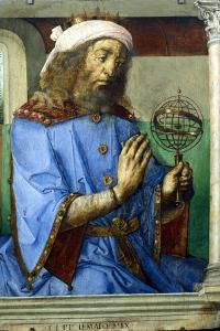 Ptolemy, Alexandrian Greek Astronomer and Geographer, Late 15th Century by Pedro Berruguete