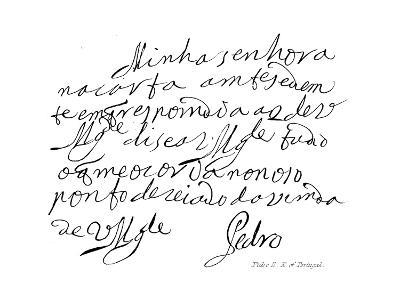 Pedro II, K of Portugal--Giclee Print