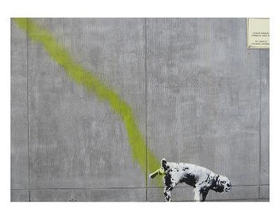Pee-Banksy-Art Print