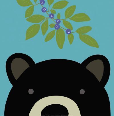 Peek-a-Boo Bear-Yuko Lau-Art Print