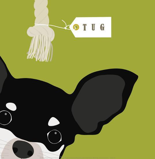 Peek-a-Boo Chihuahua-Yuko Lau-Art Print