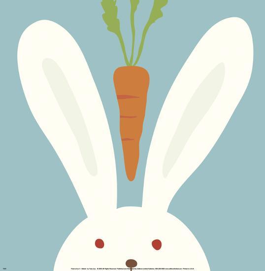 Peek-a-Boo I, Rabbit-Yuko Lau-Art Print