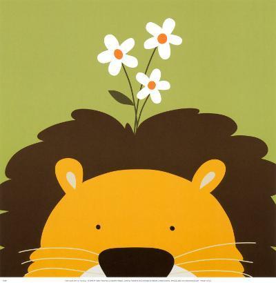 Peek-a-Boo IX, Lion-Yuko Lau-Art Print
