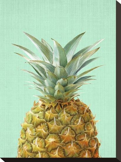 Peek A Boo Pineapple-LILA X LOLA-Stretched Canvas Print