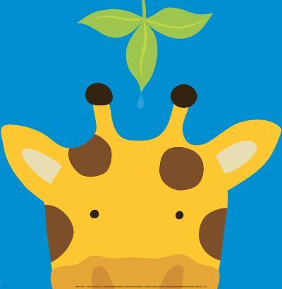 Peek-a-Boo VII, Giraffe-Yuko Lau-Art Print