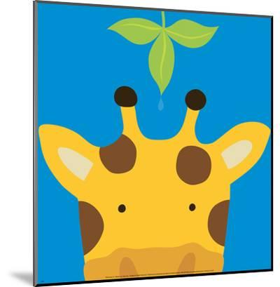 Peek-a-Boo VII, Giraffe-Yuko Lau-Mounted Print