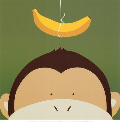 Peek-a-Boo X, Monkey-Yuko Lau-Art Print