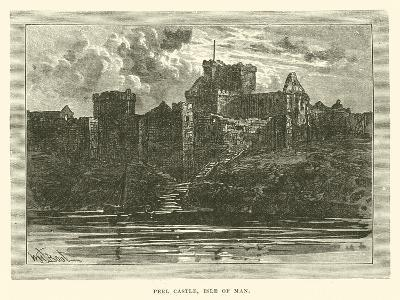 Peel Castle, Isle of Man--Giclee Print