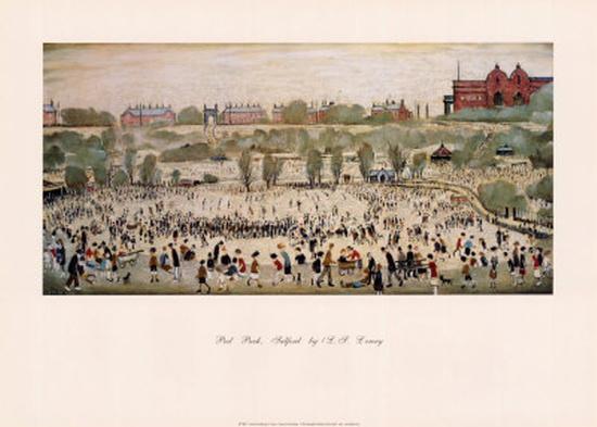 Peel Park, Salford-Laurence Stephen Lowry-Art Print