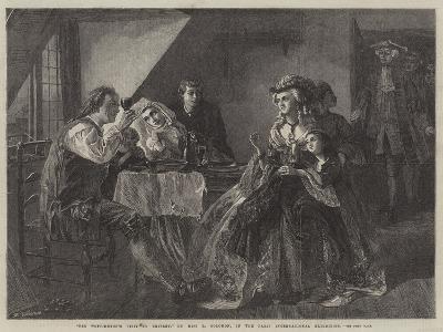 Peg Woffington's Visit to Triplet-Rebecca Solomon-Giclee Print