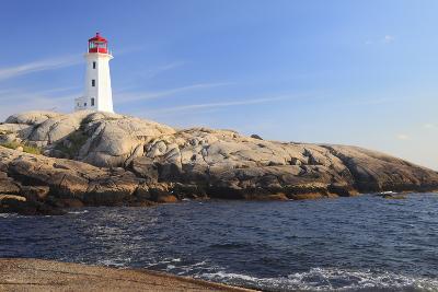 Peggy Cove Lighthouse, Nova Scotia, Canada-vlad_g-Photographic Print