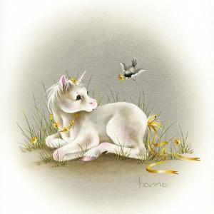 Baby Unicorn by Peggy Harris