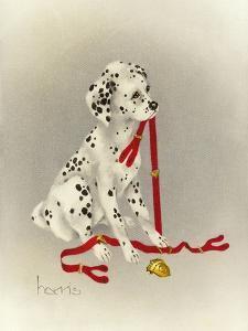 Dalmation 4- Hot Diggity Dog by Peggy Harris