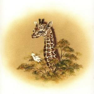 Giraffe by Peggy Harris