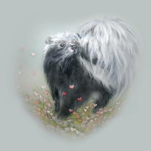 Love Is in the Air - Skunk by Peggy Harris