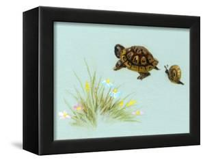 Spring Fling - Trutle and Snail by Peggy Harris