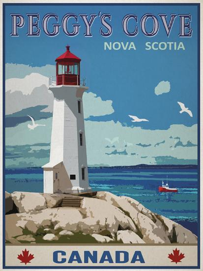 Peggy's Cove, Canada-Mark Chandon-Giclee Print