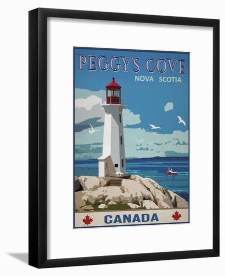 Peggy's Cove, Canada-Mark Chandon-Framed Giclee Print