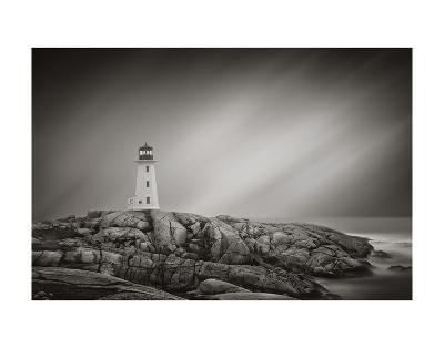 Peggy?s Cove Lighthouse-Steve Silverman-Art Print