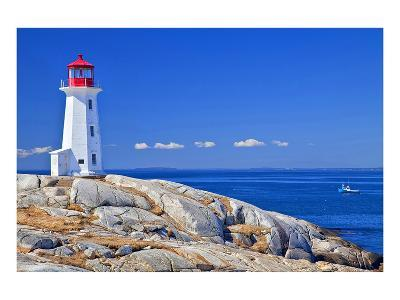 Peggy's Cove Lobster Boat--Art Print