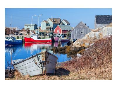 Peggy's Cove Nova Scotia Coast--Art Print