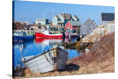 Peggy's Cove Nova Scotia Coast--Stretched Canvas Print