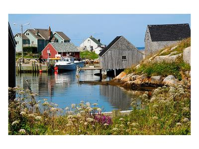 Peggy'S Cove Nova Scotia--Art Print