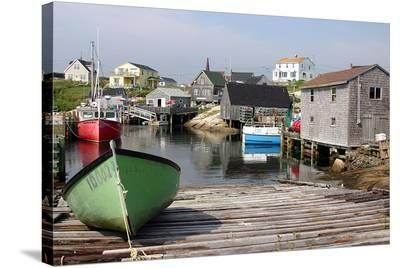 Peggy's Cove, Nova Scotia--Stretched Canvas Print
