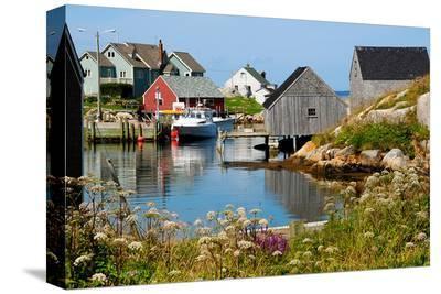 Peggy'S Cove Nova Scotia--Stretched Canvas Print
