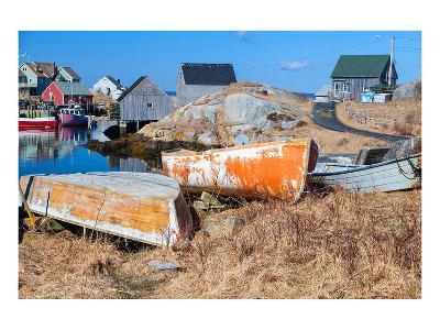 Peggy's Cove NovaScotia Canada--Art Print
