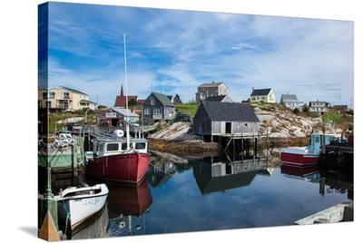 Peggy's Cove NovaScotia Canada--Stretched Canvas Print