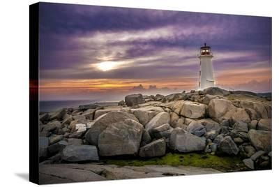 Peggy's Cove St. Margarets Bay--Stretched Canvas Print