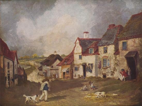 'Pegwell Bay, Ramsgate', c1800, (1936)-Unknown-Giclee Print