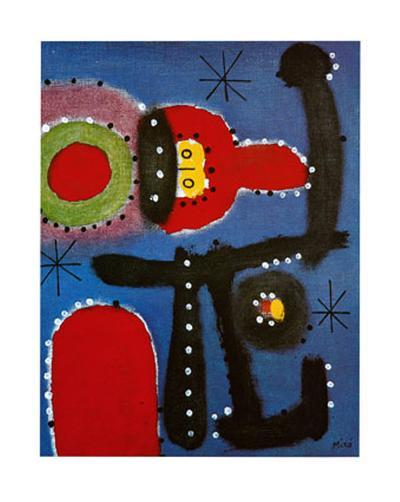 Peinture, c.1954-Joan Mir?-Art Print