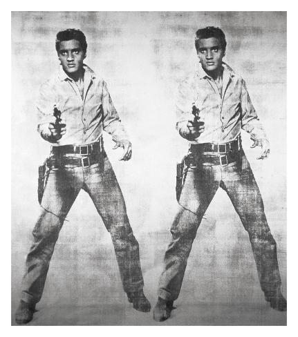 Elvis® 2 Times, 1963 Giclée