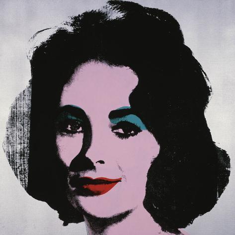 Liz, 1963 Reproduction d'art