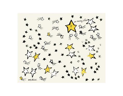 So Many Stars, c. 1958 Reproduction d'art