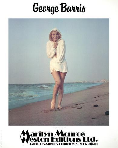 Marilyn Monroe- Chilly Wind Reproduction pour collectionneurs